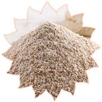 Rye baking flour peeled