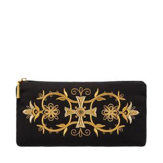 """Eyeglass case """"Orthodoxy"""" black gold"""