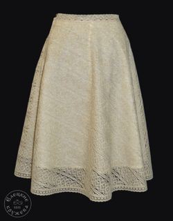 Women's lace skirt