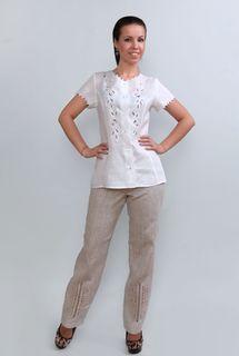 Pants womens linen 9-179