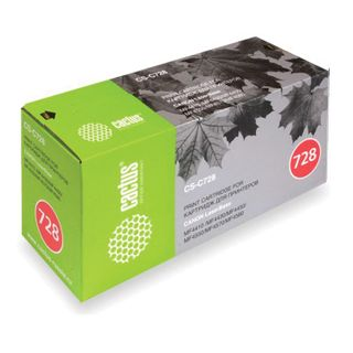 Laser cartridge CACTUS (CS-C728) for CANON MF4410 / 4430/4450 / 4550dn / 4580dn, resource 2100 pages.