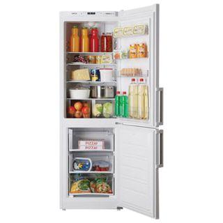 ATLANT COMM 4421-080N fridge, two-chamber, 312 litres, lower freezer 82 litres, grey