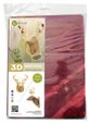 3D figure - The head of the KVK Velvet Bordeaux deer. VIP
