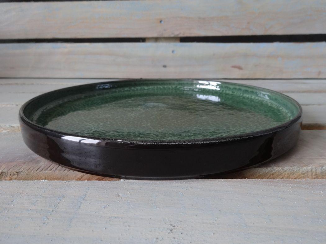 "Horex / Dish ""Verde Notte"" prateria 25 cm 4 pcs."