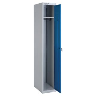 ShRS-11-300 metal wardrobe, one-section, 1850x300x500mm, 17 kg, collapsible