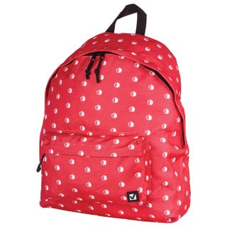 Backpack BRAUBERG universal, city size, red,