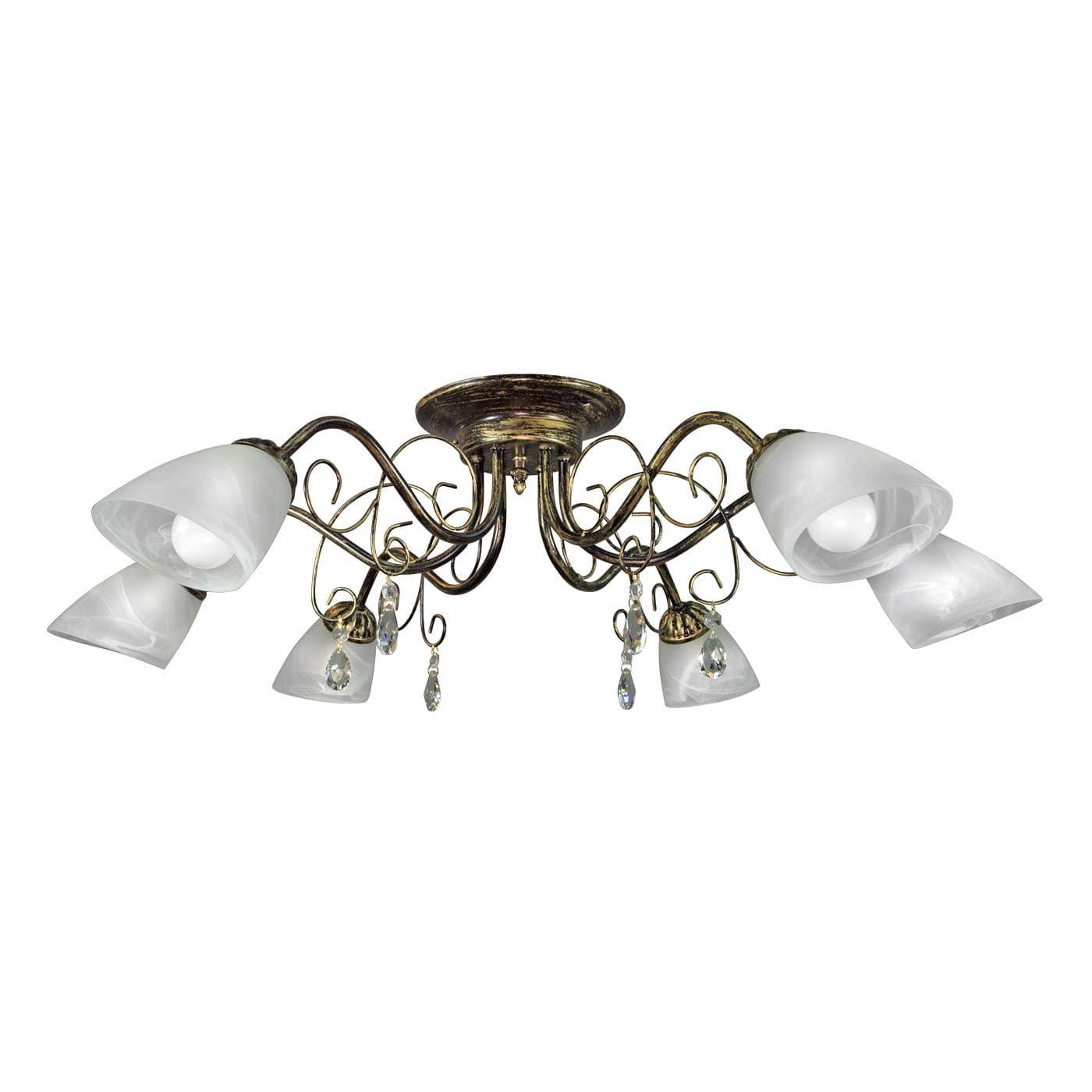 PETRASVET / Ceiling chandelier S2374-6, 6xE14 max. 60W