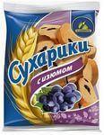 Crackers with raisins