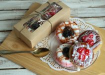 Handmade Soap Set Donuts with Berries