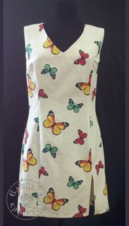 Dress womens linen С11704