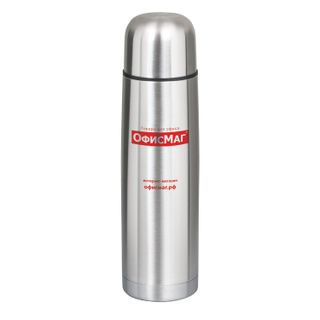 OFFISMAG / Classic thermos with narrow neck, 0.75 l, stainless steel
