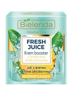 Cream with bio active citrus water, FRESH lime JUICE, BIELENDA 50ml