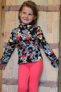 Turtleneck children's knitted