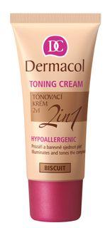 Hypoallergenic concealer 2in1 tone BISCUIT , Dermacol TONING CREAM
