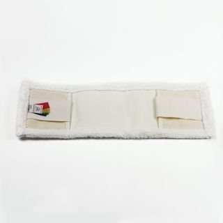 LIMA EXPERT / MOP attachment flat for mop / holder 40 cm, ears / pockets (TYPE U / K), microfiber