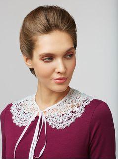 Detachable Lace Collar No. 80, Madame Cruje