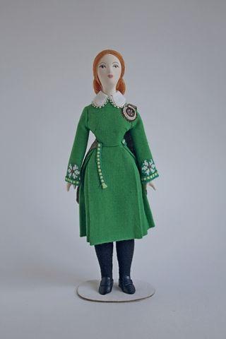 Doll gift. Women's dance costume 20th century. Ireland.
