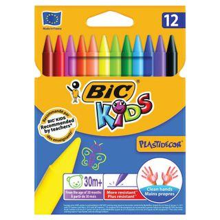 Crayons plastic BIC
