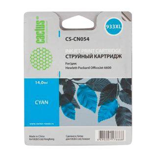 Inkjet Cartridge CACTUS (CS-CN054) for HP OfficeJet 6100/6600/6700 Cyan 14 ml