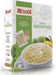 Wheat groats - Metaka Premium series groats in cooking bags