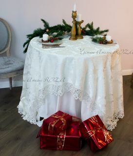 Lace Tablecloth Celebration