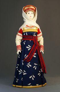 Doll gift. Moloduha. Vologda. Russian