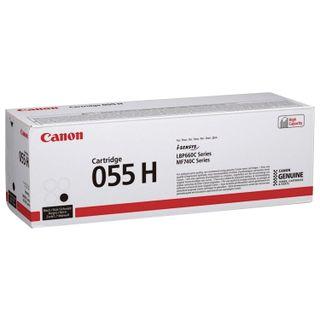 Laser cartridge CANON (055HBK) for LBP663 / 664 / MF742 / 744/746, black, original, yield 7600 pages