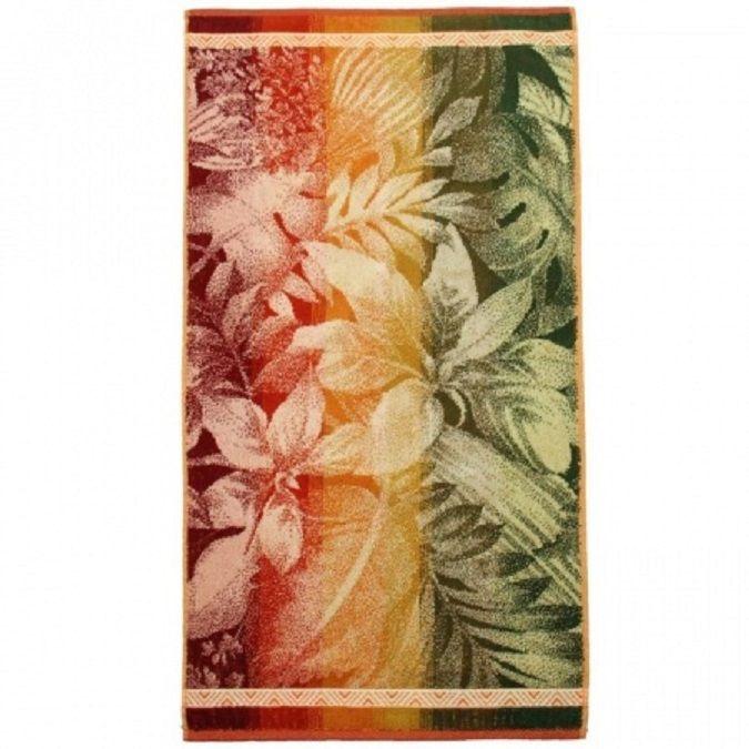 """Terry towel """"Fiji"""" size 90 * 50 jacquard"""