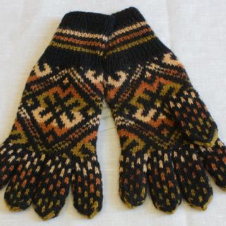 Gloves manual knitting C 223 NHP
