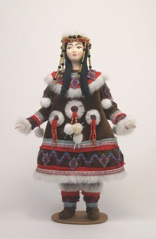 Kamchatka. Itelmen. Styling. Doll gift