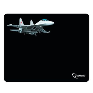 GEMBIRD / Mouse pad MP-GAME5, rubber + fabric, 250x200x3 mm, black