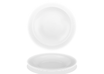 Round porcelain dish