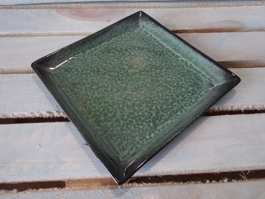 "Хорекс / Блюдо ""Green Night"" practical square 10 шт."