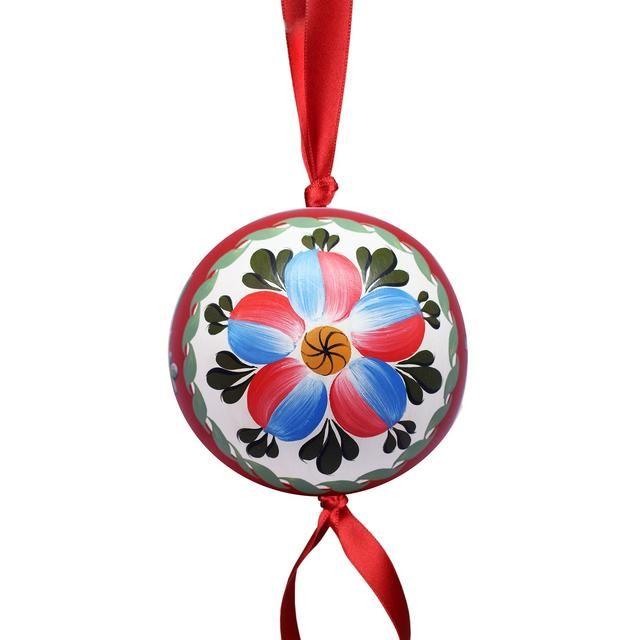 "Volkhov painting / Interior pendant decoration ""Ball"" ""Petal rosette"""