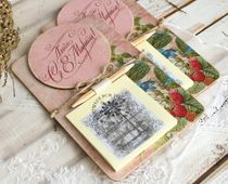 Handmade March 8 fridge magnet with writing block