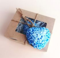 Handmade soap Heart of roses mix of flowers