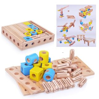 The constructor of the TRANSFORMER 38 parts for children from 3 years
