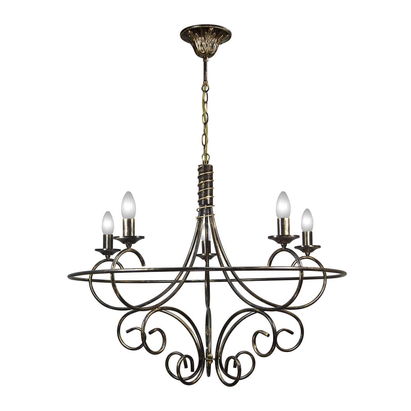 PETRASVET / Pendant chandelier S3127-5, 5xE14 max. 60W