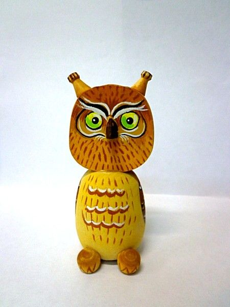 "Tver souvenirs / Fairy-tale characters ""Owl"""