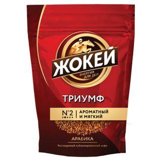 "JOKE / Instant coffee ""Triumph"", freeze-dried, 450 g, soft pack"