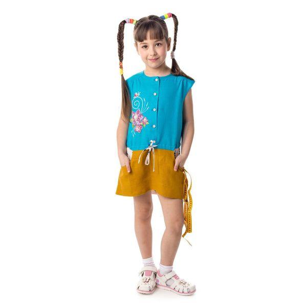 Children's blouse 'Marvelous Garden'