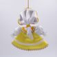 Christmas toy porcelain Girl in Russian costume, 14cm - view 3