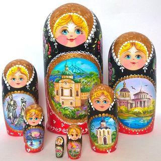 Matryoshka 7 subject Tver
