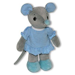 "Anti-stress toy ""Mouse Arishka"" 1(Gray)"