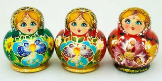 Matryoshka 10 places Malaya- souvenir