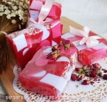 Aroma of Love 1kg whetstone - handmade solid shower gel