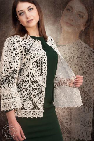 Jacket women's lace С377