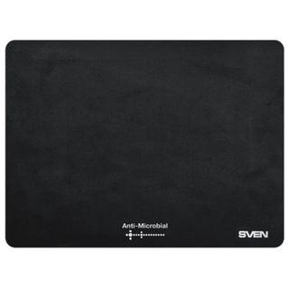 SVEN / Mouse pad with bactericidal coating CK, polypropylene, 240x190x1 mm, black