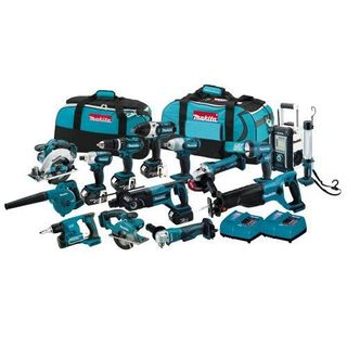 Makita LXT1500 18-Volt LXT Li-Ion Cordless 15-Piece kit