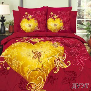 Satin bed linen 3D Duo